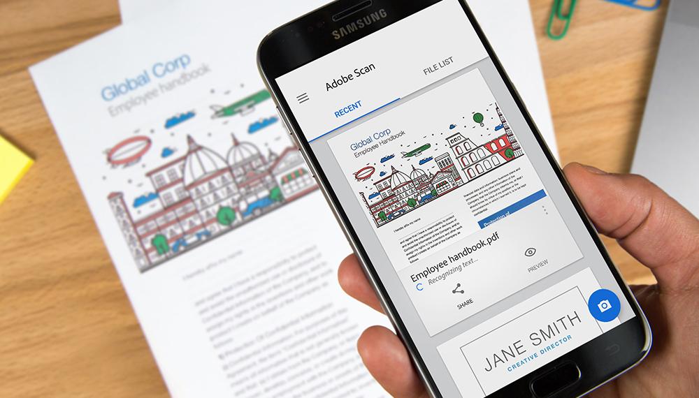 【Adobe最新推出,掃描+PDF編輯App!】