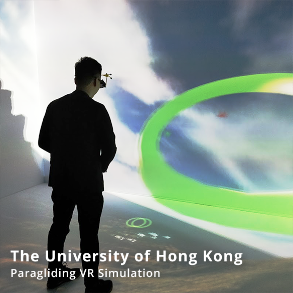 The University of Hong Kong – Paragliding VR Simulation