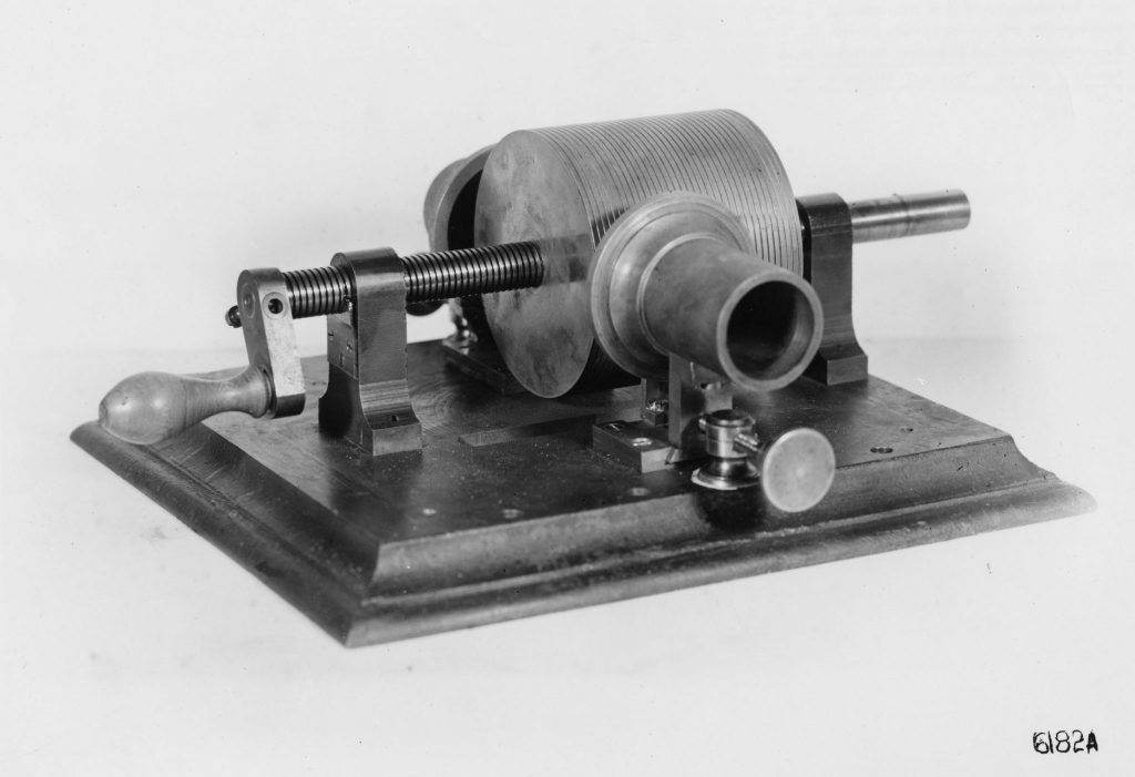 Edison First phonograph 18771