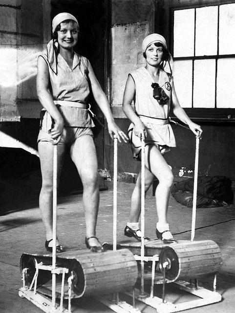 1920s treadmill